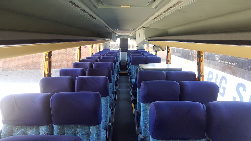 36-Seater semi-luxury