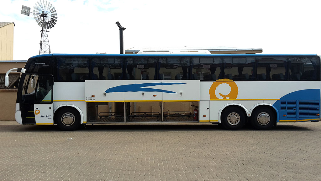 60-Seater semi-luxury